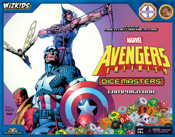 Marvel Dice Masters: Avengers Infinity Campaign Box Cover Artwork