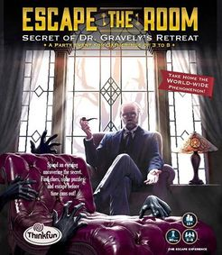 Escape the Room: Secret of Dr. Gravely\'s Retreat | Board Game ...