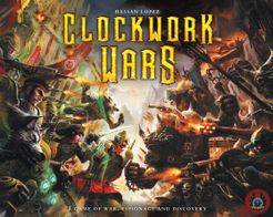 Clockwork Wars Cover Artwork