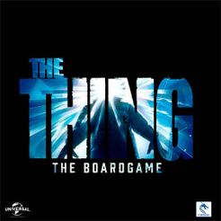 The Thing: The Boardgame Cover Artwork