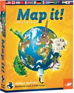 Map It! World Edition | Board Game | BoardGameGeek