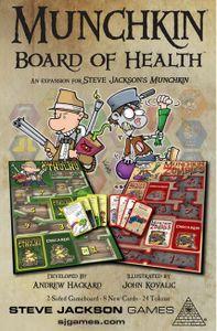 Munchkin Board of Health | Board Game | BoardGameGeek