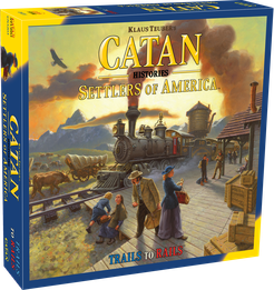 Catan Histories: Settlers of America \u2013 Trails to Rails