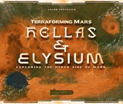 Terraforming Mars: Hellas & Elysium Cover Artwork