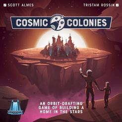 Cosmic Colonies Cover Artwork