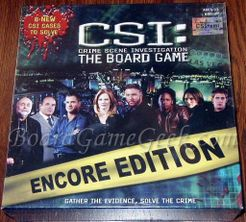 Csi: the board game – encore edition | board game | boardgamegeek.
