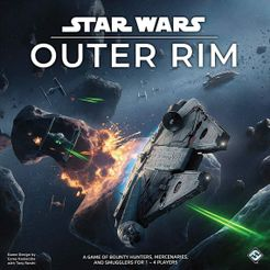 Star Wars: Outer Rim Cover Artwork