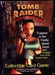 Tomb Raider Collectible Card Game Board Game Boardgamegeek