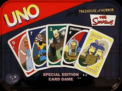 Simpsons Edition UNO Card Game Spiele