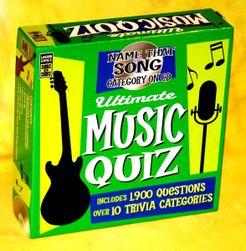 Ultimate Music Quiz | Board Game | BoardGameGeek