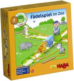 Fädelspiel Zoo Holzspielzeug