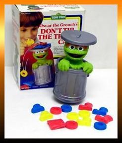 Don T Tip The Trash Can Board Game Boardgamegeek