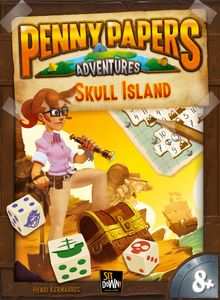 Penny Papers Adventures: Skull Island Cover Artwork