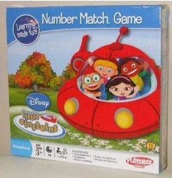 Little Einsteins Number Match Game Board Game Boardgamegeek