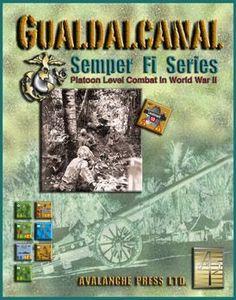 Panzer Grenadier: Semper Fi! Guadalcanal | Board Game | BoardGameGeek
