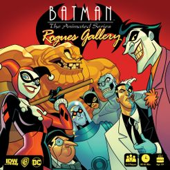 Batman: The Animated Series – Rogues Gallery Cover Artwork