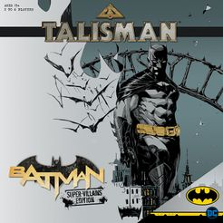 Talisman: Batman – Super-Villains Edition Cover Artwork