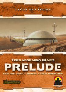 Terraforming Mars: Prelude Cover Artwork