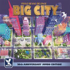 Big City: 20th Anniversary Jumbo Edition! Cover Artwork