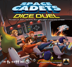 Space Cadets: Dice Duel Cover Artwork