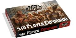 Blood Rage: 5th Player Expansion Cover Artwork