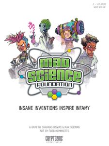 Mad Science Foundation | Board Game | BoardGameGeek