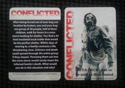 Brand New Game Free Shipping CONFLICTED SURVIVE THE APOCALYPSE BOARD GAME