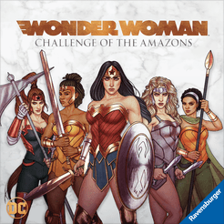 Wonder Woman: Challenge of the Amazons Cover Artwork