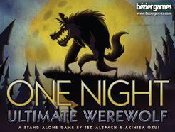 One Night Ultimate Werewolf Cover Artwork