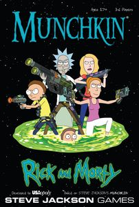 Munchkin Rick and Morty | Board Game | BoardGameGeek