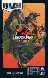 Unmatched: Jurassic Park – InGen vs Raptors Cover Artwork