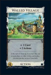 Dominion: carte promotionnelle du village fortifié
