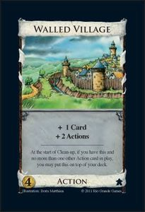Dominion: Walled Village Promo-Karte