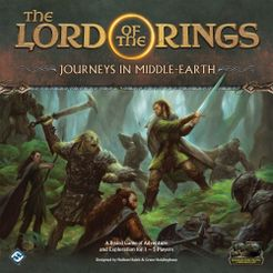 The Lord of the Rings: Journeys in Middle-earth Cover Artwork
