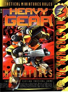 Heavy Gear Tactical Miniatures Rules | Board Game | BoardGameGeek