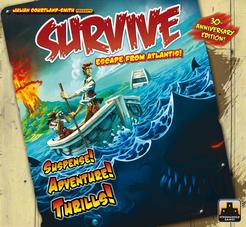 Survive: Escape from Atlantis! Cover Artwork