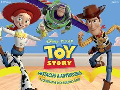 Toy Story: Obstacles & Adventures Cover Artwork