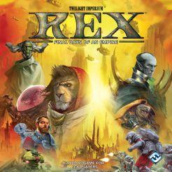 Rex: Final Days of an Empire Cover Artwork