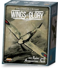 Wings of Glory: WW2 Rules and Accessories Pack | Board Game
