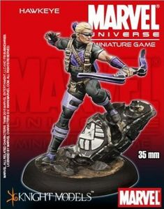 Marvel Universe Miniature Game: Hawkeye   Board Game