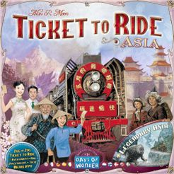 Ticket To Ride Asia Map.Ticket To Ride Map Collection Volume 1 Team Asia Legendary Asia