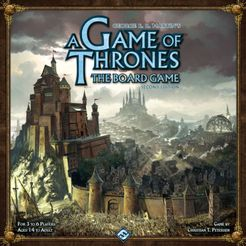 A Game of Thrones: The Board Game (Second Edition) Cover Artwork