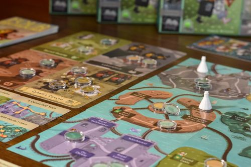 Board Game: Four Humours