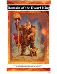 RPG Item: Domain of the Dwarf King