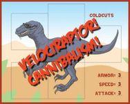 Board Game: Velociraptor! Cannibalism!