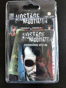 Hostage Negotiator: Expansiones #5 y #6 Cover Artwork