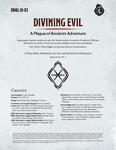 RPG Item: DDAL10-03: Divining Evil