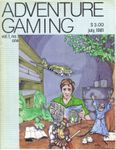 Issue: Adventure Gaming (Issue 1 - Jul 1981)