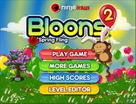 Video Game: Bloons 2 SpringFling