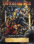 RPG Item: ZWEIHANDER: Character Folio